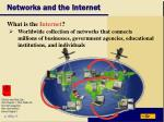 networks and the internet18