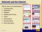 networks and the internet19