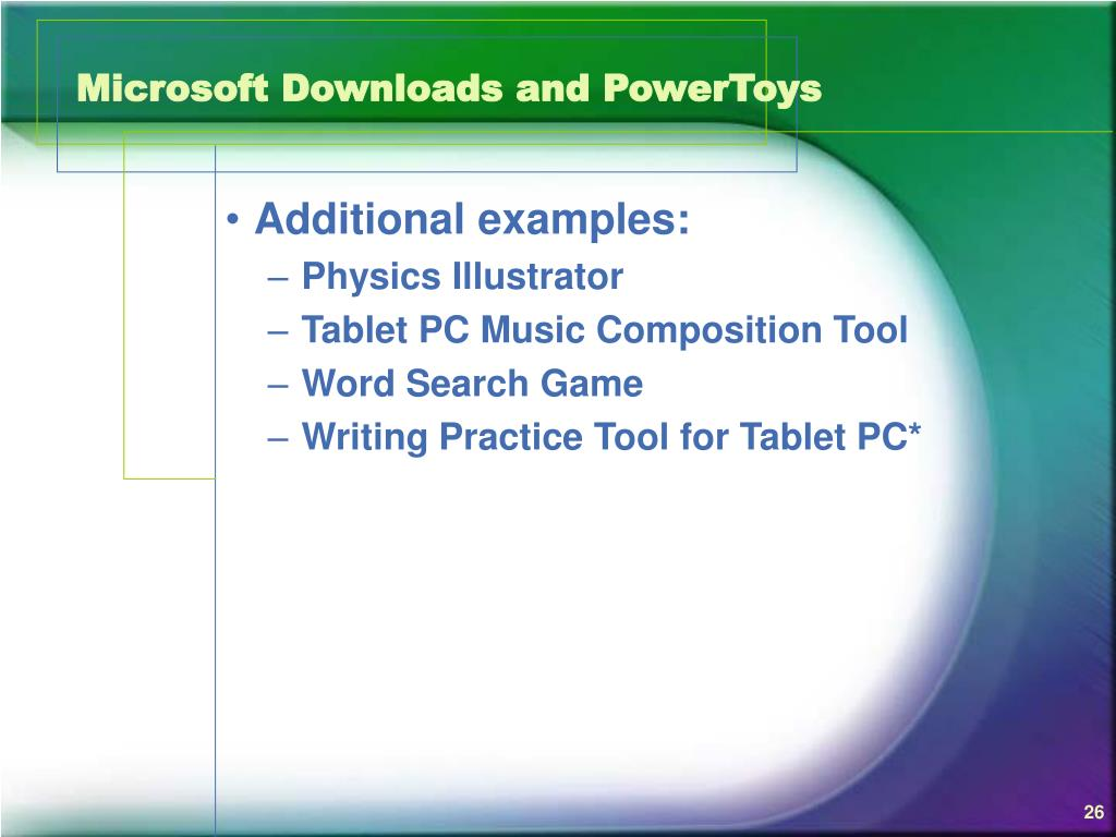 Microsoft Downloads and PowerToys