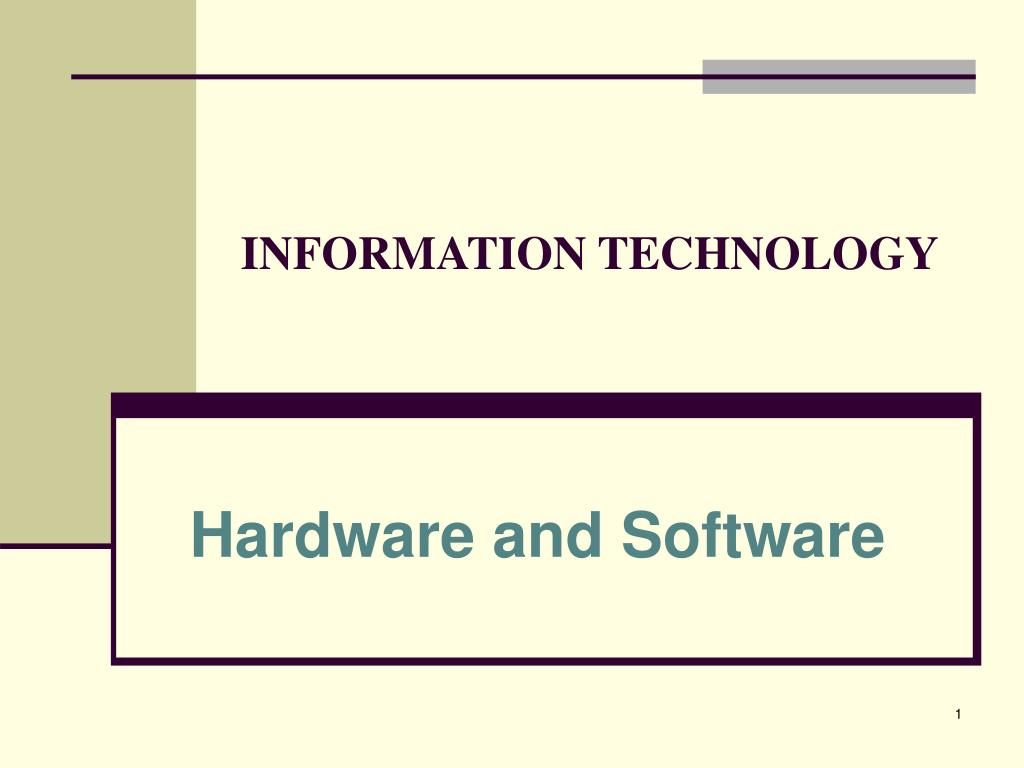 information technology l.