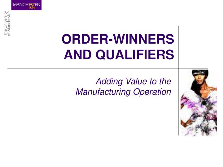 apple order winners and qualifiers