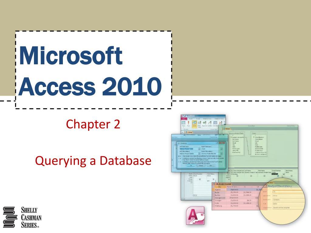 microsoft access 2010 l.
