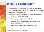 what is a handheld