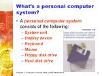 what s a personal computer system