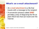 what s an e mail attachment