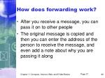 how does forwarding work