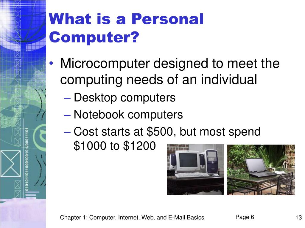 What is a Personal Computer?