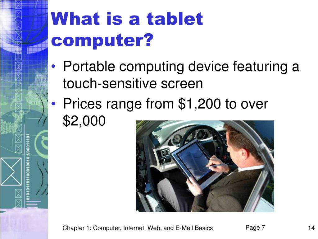 What is a tablet computer?