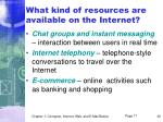 what kind of resources are available on the internet36