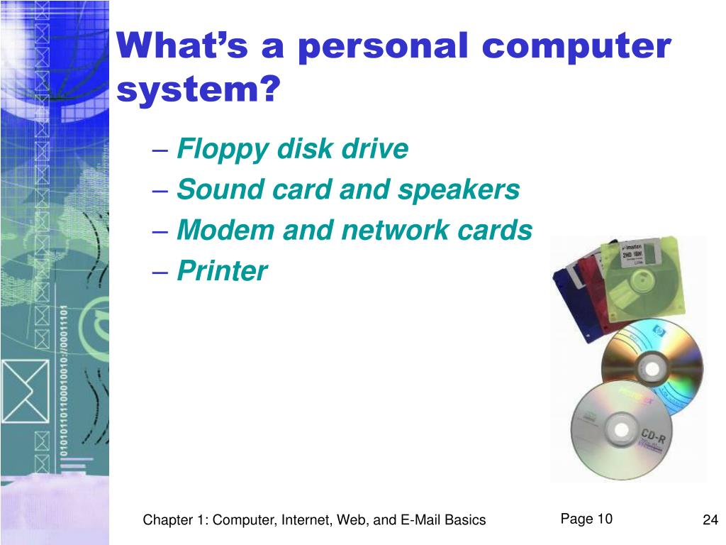 What's a personal computer system?
