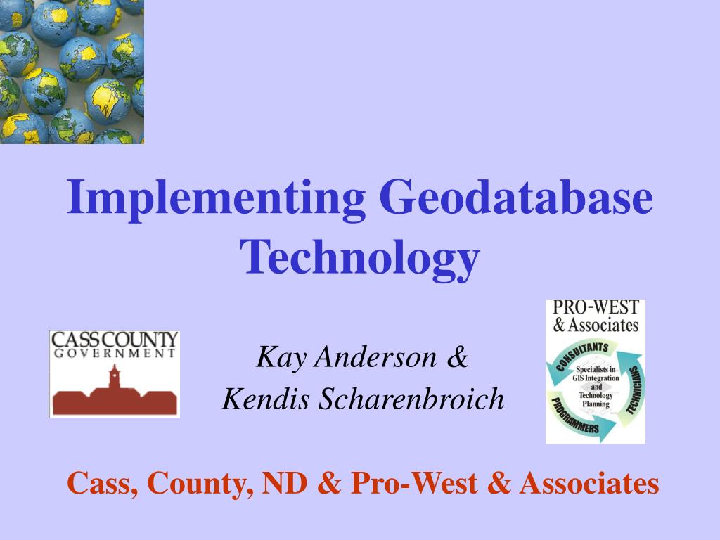 implementing geodatabase technology l.