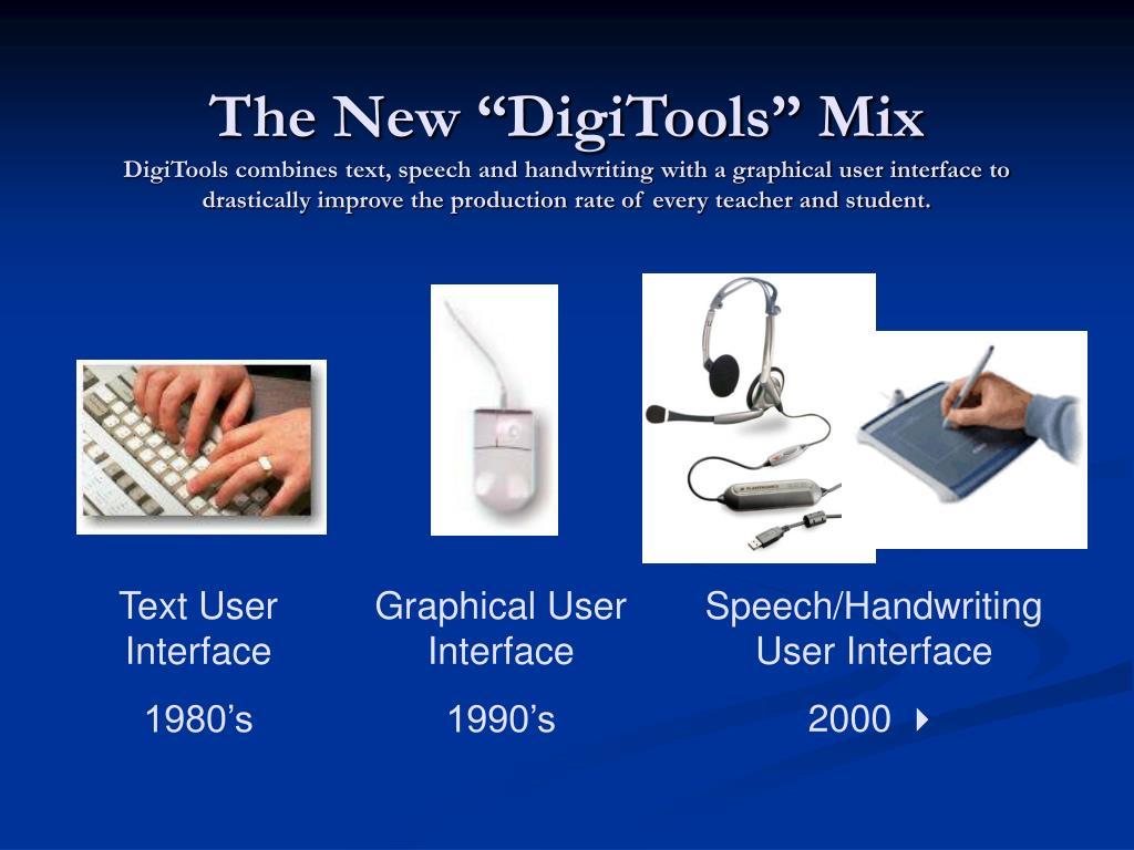 Speech/Handwriting User Interface