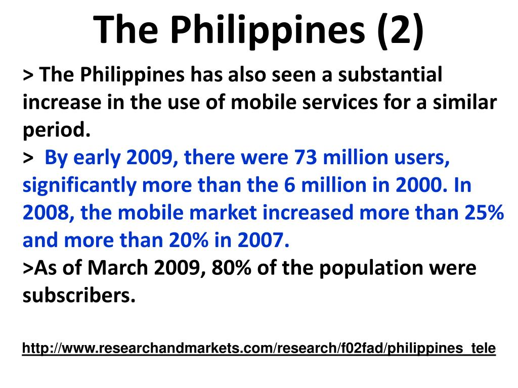 The Philippines (2)