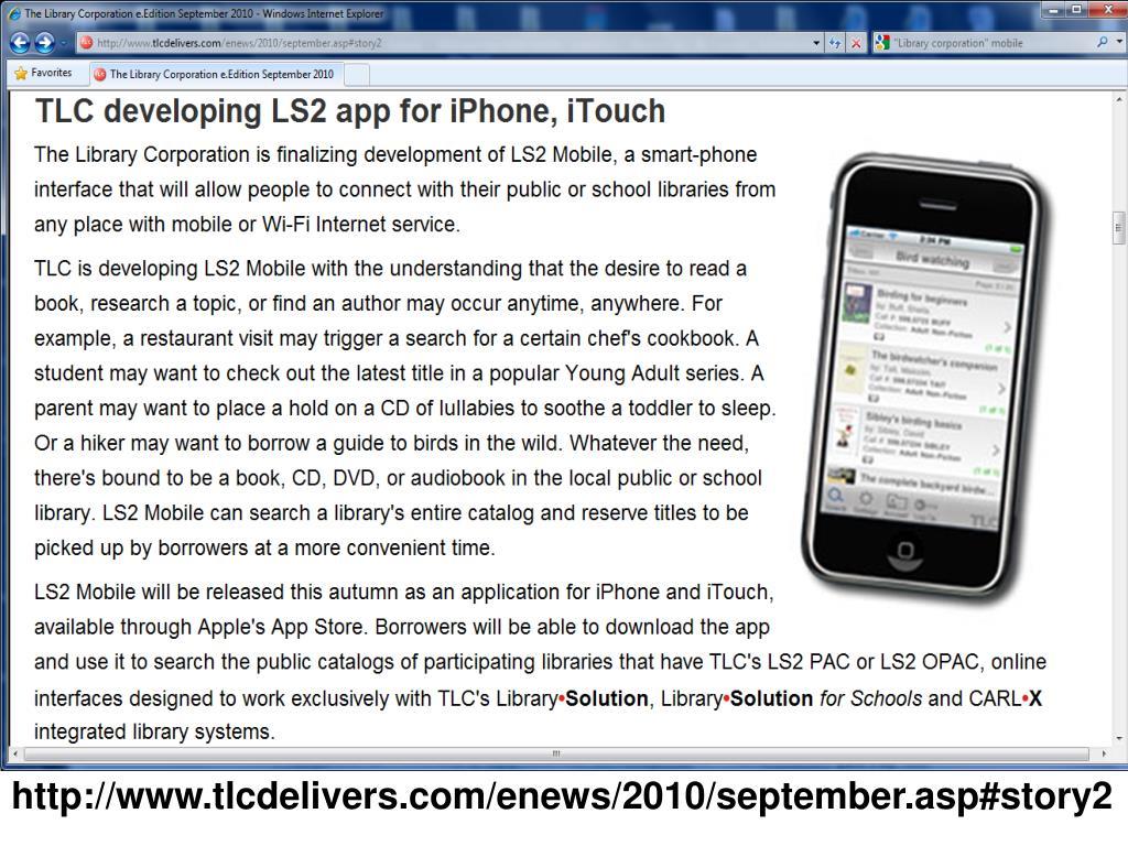 http://www.tlcdelivers.com/enews/2010/september.asp#story2