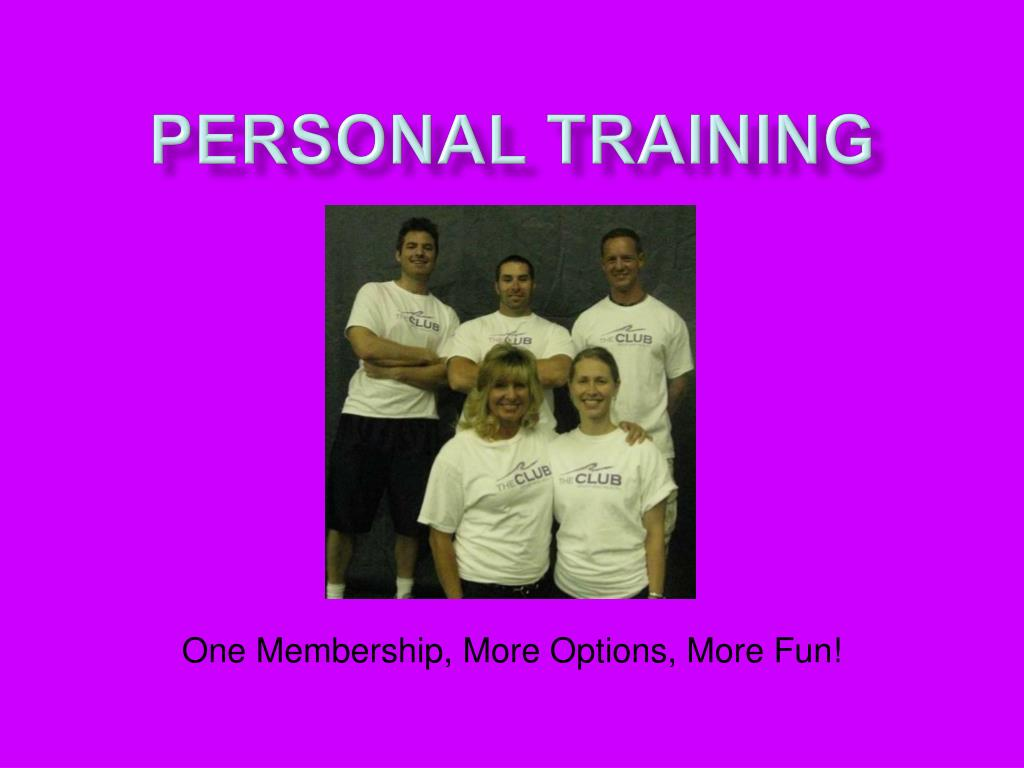 personal training l.