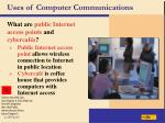 uses of computer communications9