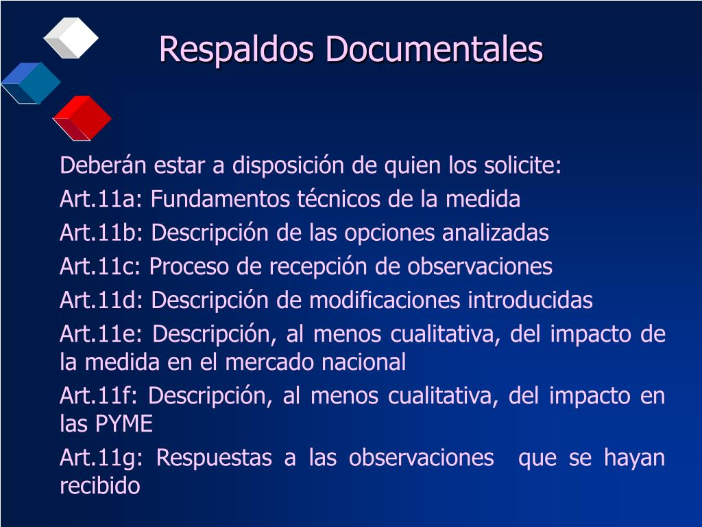 Respaldos Documentales