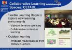 collaborative learning spaces cetadl