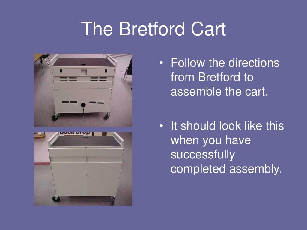 The Bretford Cart