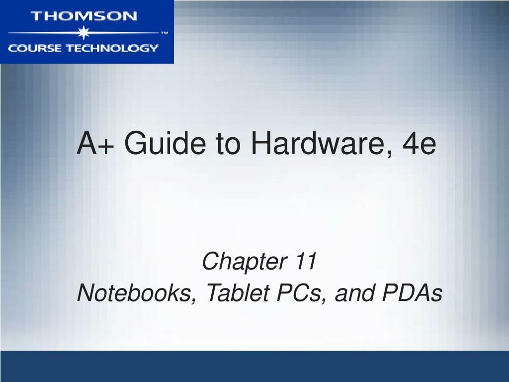 a guide to hardware 4e l.