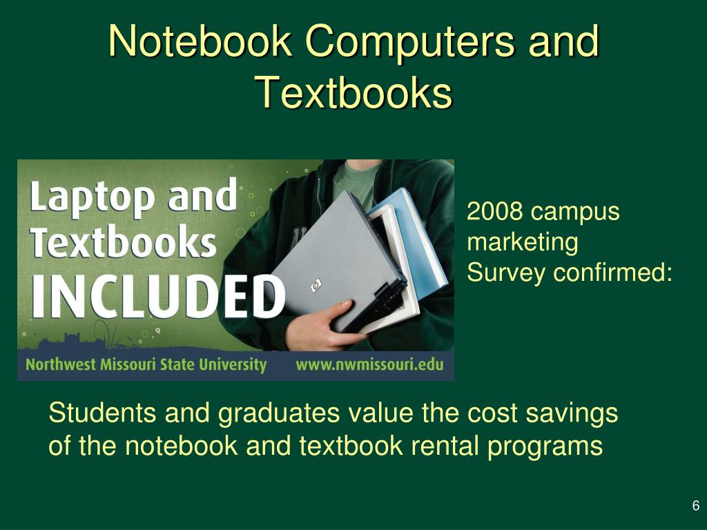 Notebook Computers and Textbooks