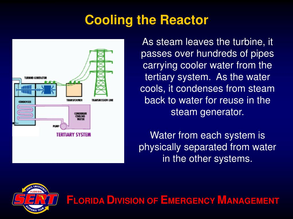 Cooling the Reactor