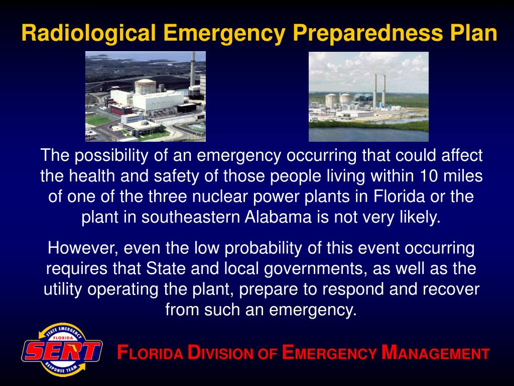 Radiological Emergency Preparedness Plan