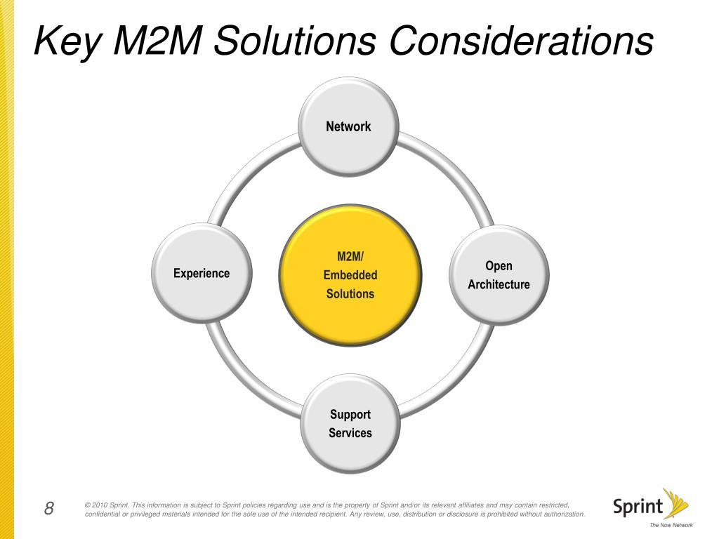 Key M2M Solutions Considerations