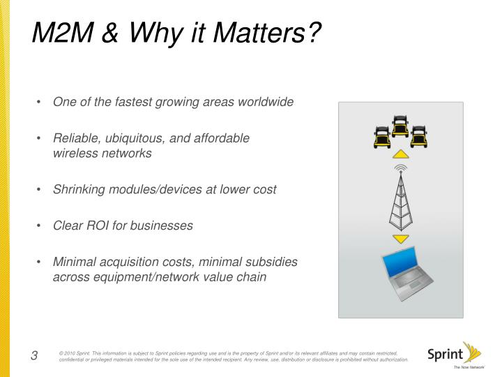 M2m why it matters
