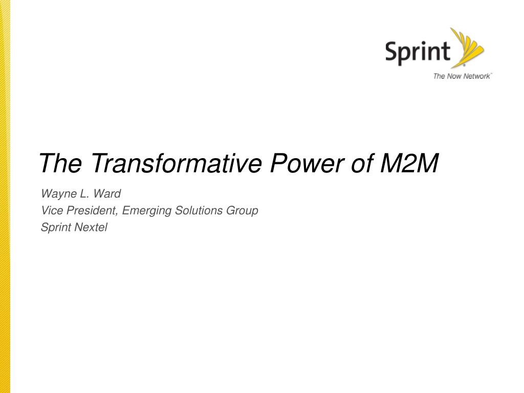 the transformative power of m2m l.