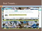 bad tweets