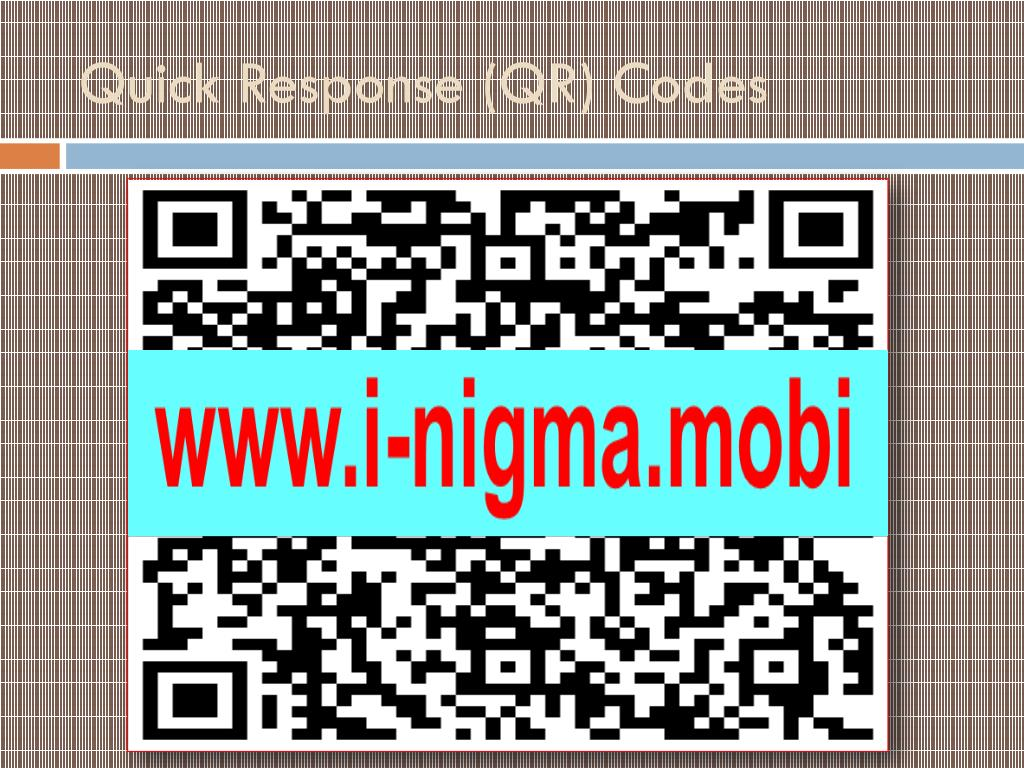 Quick Response (QR) Codes