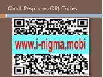 quick response qr codes