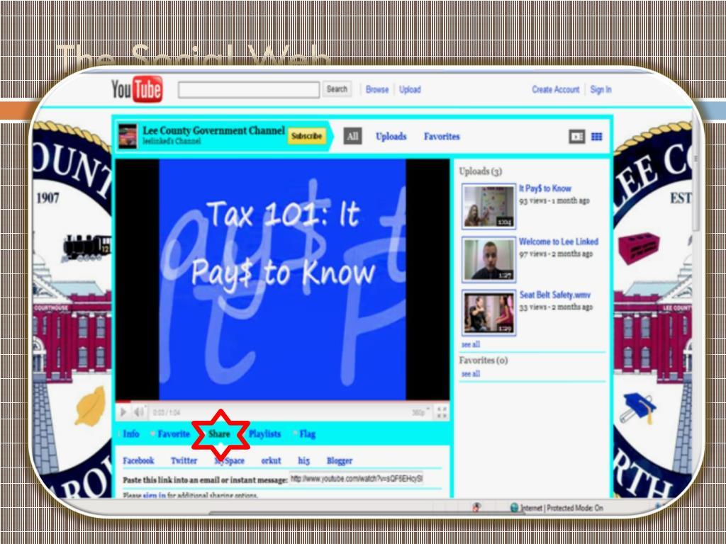 The Social Web