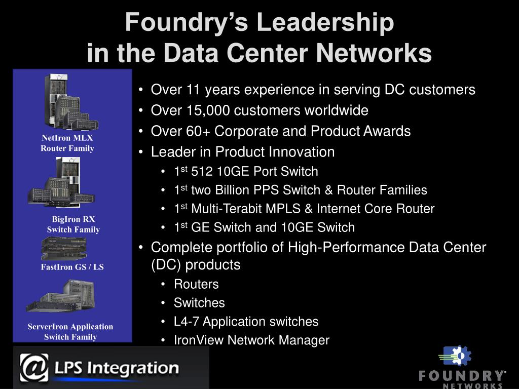 Foundry's Leadership