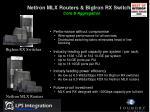 netiron mlx routers bigiron rx switches core aggregation