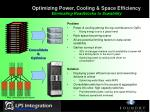 optimizing power cooling space efficiency eliminating roadblocks to scalability