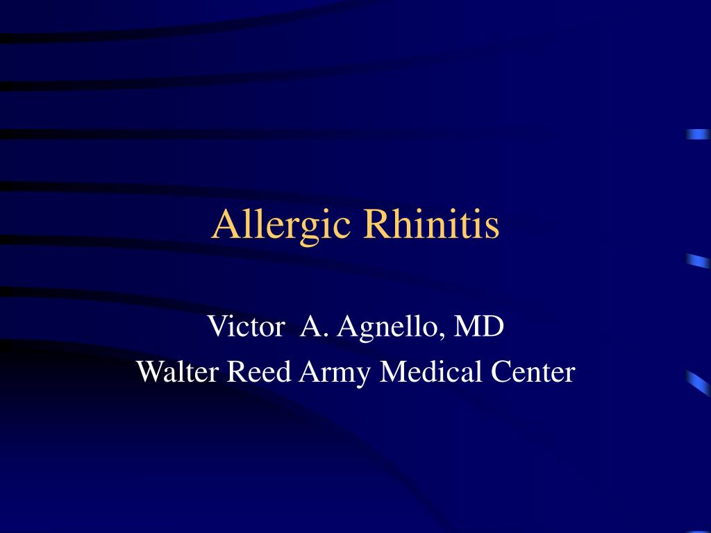 allergic rhinitis l.