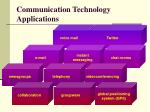 communication technology applications