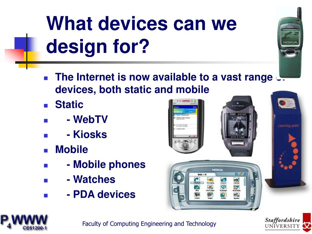 what devices can we design for l.