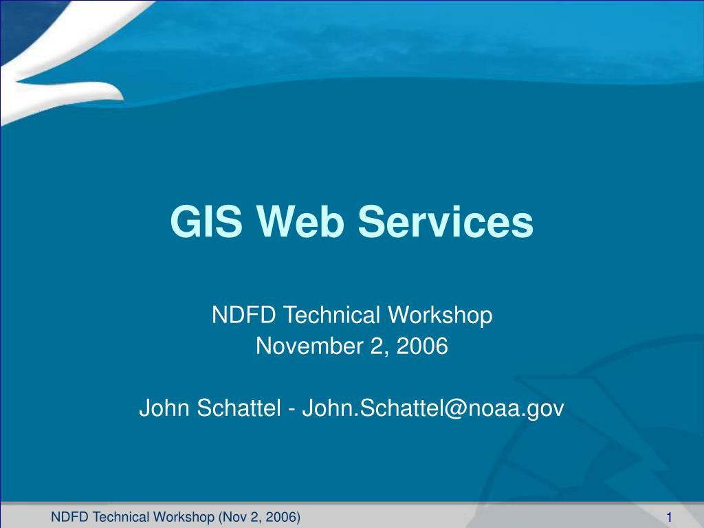 gis web services l.