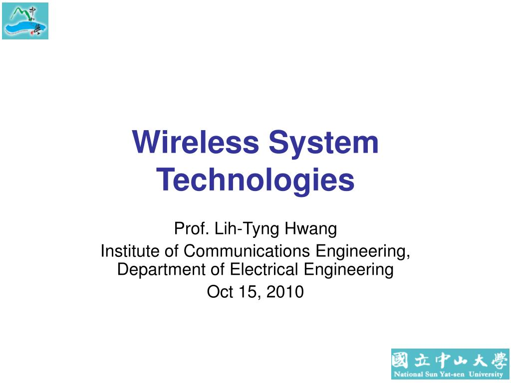 wireless system technologies l.