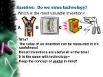 baseline do we value technology3