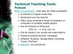 technical teaching tools podcast