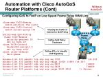 automation with cisco autoqos router platforms cont20