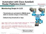 automation with cisco autoqos router platforms cont24