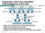 automation with cisco autoqos voip intelligence in the lan