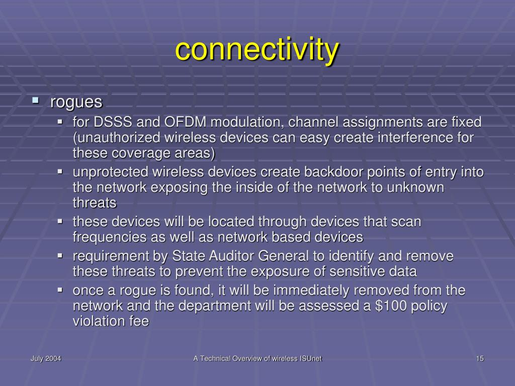 connectivity