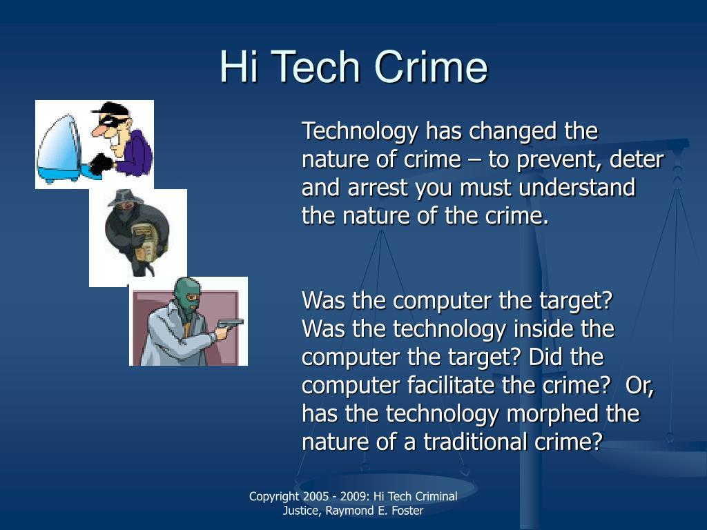 Hi Tech Crime
