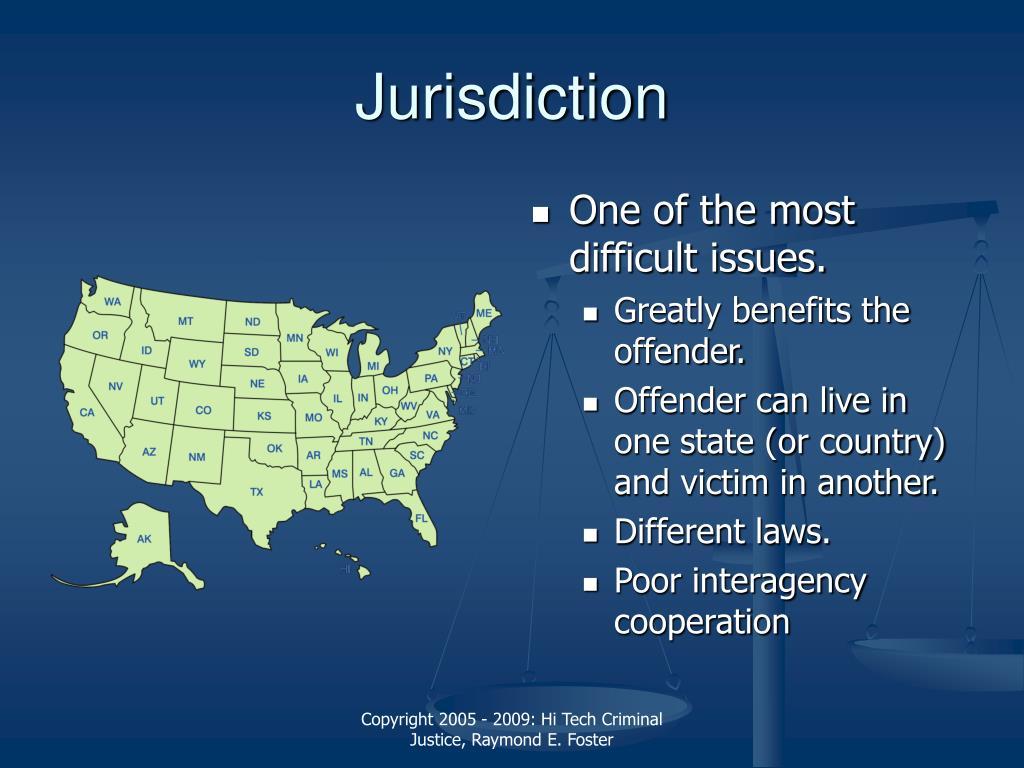 Jurisdiction